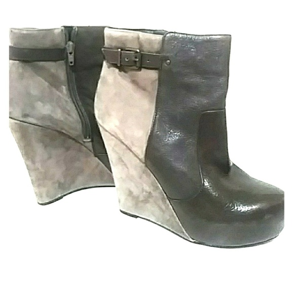 9cdd57694f65 Jessica Simpson Shoes - Wedge booties Jessica Simpson 8.5